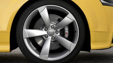 Audi TTS Competition five spoke alloy wheel