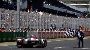 Le Mans 2017 - Toyota finishing line