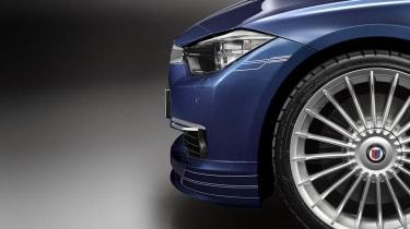 2013 Alpina B3 Biturbo alloy wheel side decal