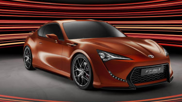Toyota FT-86 coupe at Frankfurt