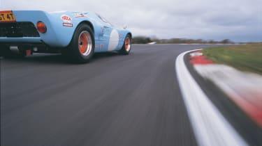 Hi-tech Ford GT40