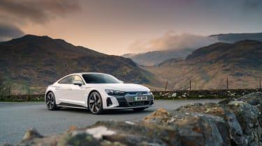 Audi e-tron GT quattro – front quarter static