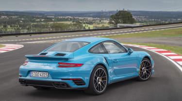 991.2 Porsche 911 Turbo S - rear static 2