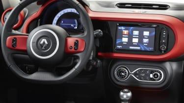 Renault Twingo interior dashboard