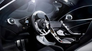 McLaren 12C MSO Concept white and black interior