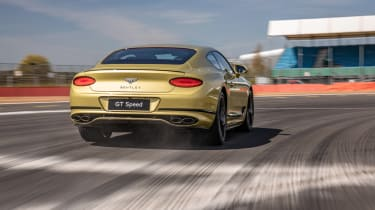 Bentley Continental GT Speed UK – rear tracking