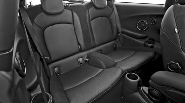 New Mini 2014 rear seats