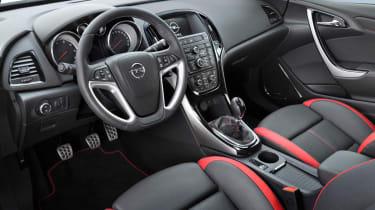 2012 Vauxhall Astra Biturbo interior dashboard