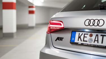 Abt tuned Audi RS3 rear badge