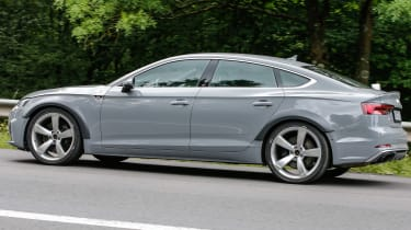 Spy - Audi RS5 Sportback profile