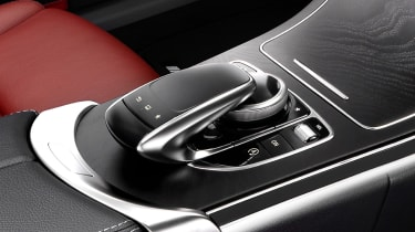 Mercedes C-class COMAND touchpad