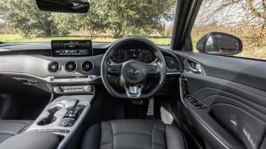 Kia Stinger GT-S MY21 press – interior