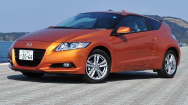 Honda CR-Z hybrid sports car