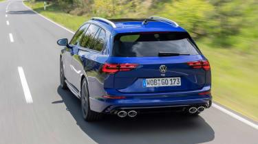 Mk8 Volkswagen Golf R – rear tracking