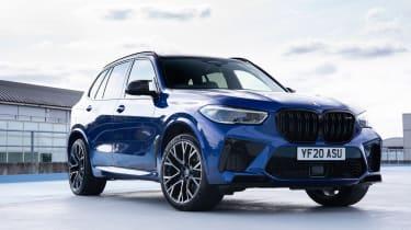 BMW X5M Competition - front quarter