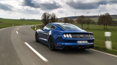 Ford Mustang GT V8 rear three quarters