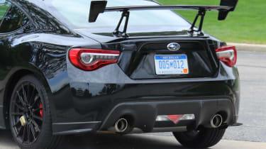 Pre-production Subaru STI BRZ - Rear