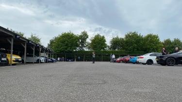 Goodwood evo Track Day June 2 – paddock