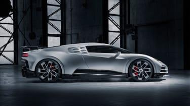 Bugatti Centodieci side