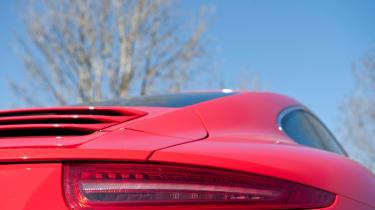 2012 Porsche 911 Carrera manual rear light