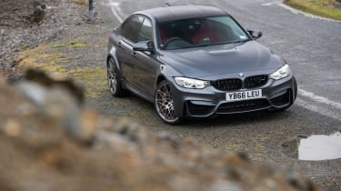 BMW M3 Competition Package – front quarter
