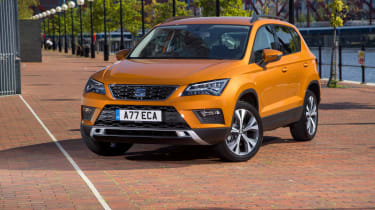 SEAT Ateca front static