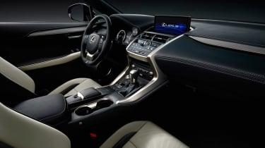 Lexus NX300 - studio interior 2