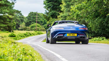 Mercedes-AMG GT Roadster - 2021 rear tracking