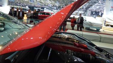 Ferrari F12 Berlinetta sculptured bonnet