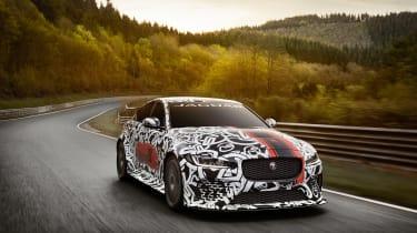 Jaguar XE SV Project 8 - front 1