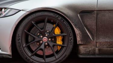Jaguar XE SV Project 8 - front wheels