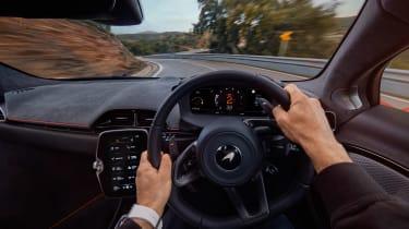 McLaren Artura revealed - orange driving