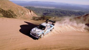 evo Magazine: August 2013 Pikes Peak Peugeot 405 T16