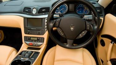 Harry Metcalfe's Maserati GranTurismo S interior