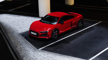 Audi R8 V10 Performance RWD – coupe top