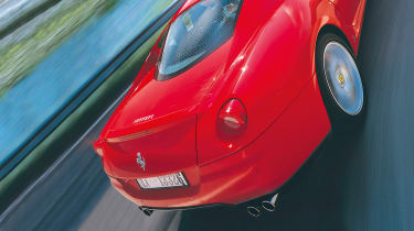 Ferrari 599 GTB Fiorano flying buttresses