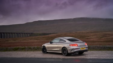 Mercedes-AMG C43 Coupe 2018 review - rear static