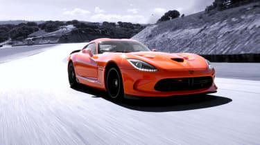 SRT Viper TA edition orange