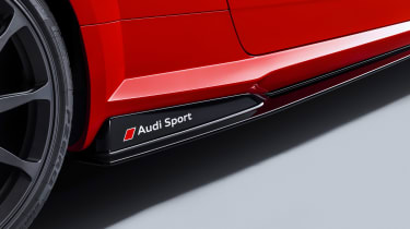 Audi performance parts - TT RS detail