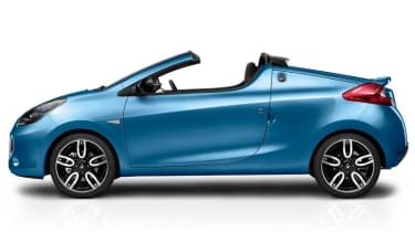 Renault Wind roof open