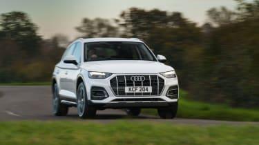 Audi Q5 2021 – front cornering 2