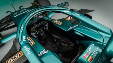 2021 Formula 1 racers – aston cockpit