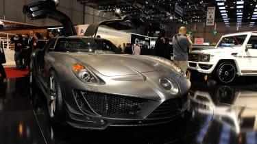 Geneva 2011: Mansory's Mercedes SLS AMG