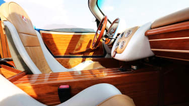 Montecarlo Rascasse wooden interior inspired by yachts