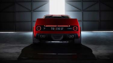 Kimera Automobili 037 –rear