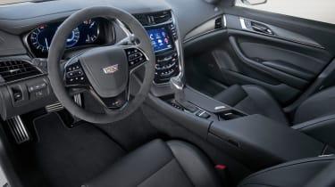 Cadillac CTS-V - interior