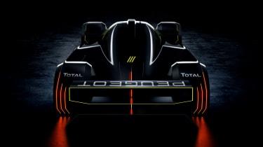Peugeot Sport Hybrid4 500kW - rear