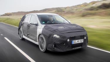 Hyundai i30 N prototype - front tracking