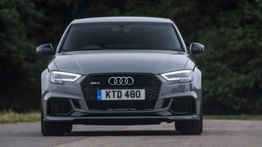 Audi RS3 Saloon - front