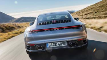 Porsche 992 911 - rear